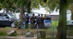 على طريقة رامبو...الشرطة الألمانية