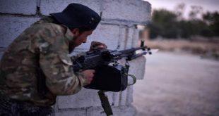 ولعت بين المجموعات المسلحة التابعة لتركيا في رأس العين