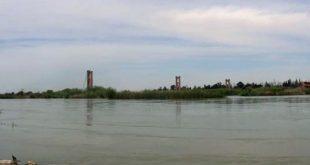 مشاهد مفزعة لنهر الفرات: تركيا تقطع الماء عن سوريا.. شاهد!