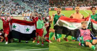 منتخبا العراق وسوريا على موعد في أربيل