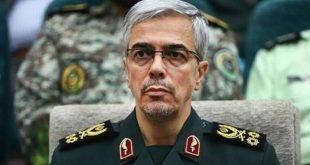 رئيس الأركان الايراني: على تركيا أن تدرك أن حل مشاكلها الأمنية لا يكون عبر التواجد في سوريا