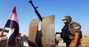 الجيش السوري يعترض رتل مدرعات أمريكية (صور)