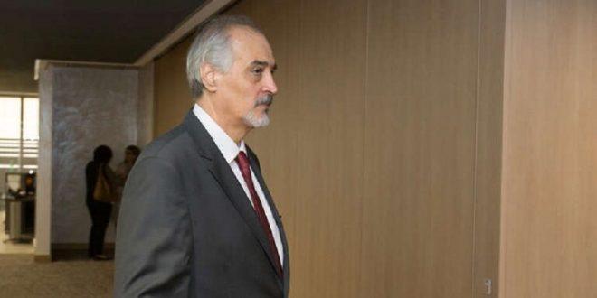 الجعفري يكشف هدف واشنطن من إيصال المساعدات الى سوريا