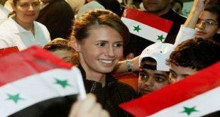 السيدة الأولى أسماء الأسد عائلة الطفلة المقتولة سيدرا.. بالصور