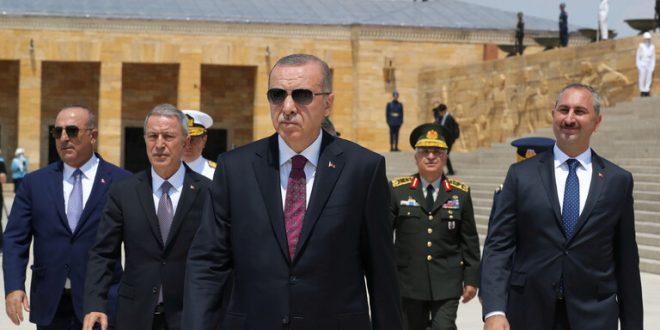 أردوغان مخاطبا أتاتورك: أحرزنا إنجازات تاريخية في سوريا وليبيا والمتوسط