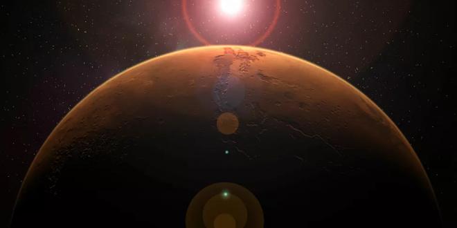 اكتشاف آثار غامضة على كوكب المريخ
