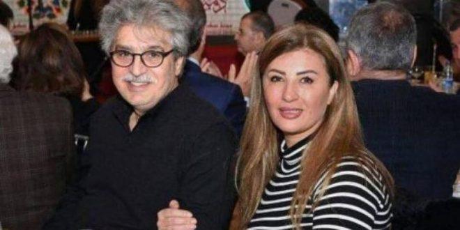 بعد شائعة طلاقهما..عنود الخالد تزور مكان تصوير مسلسل زوجها عباس النوري