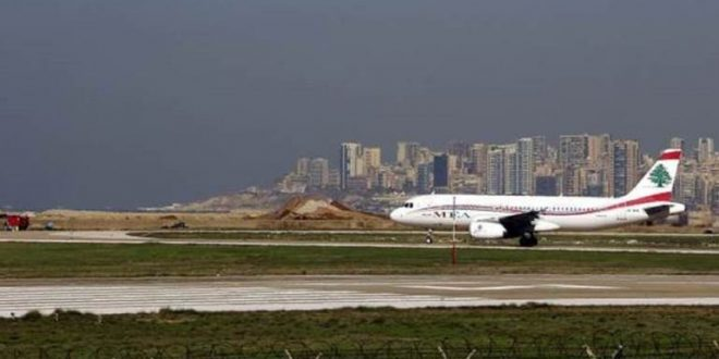 من هي الفنانة السورية التي كانت أول الواصلين إلى مطار بيروت بعد افتتاحه؟