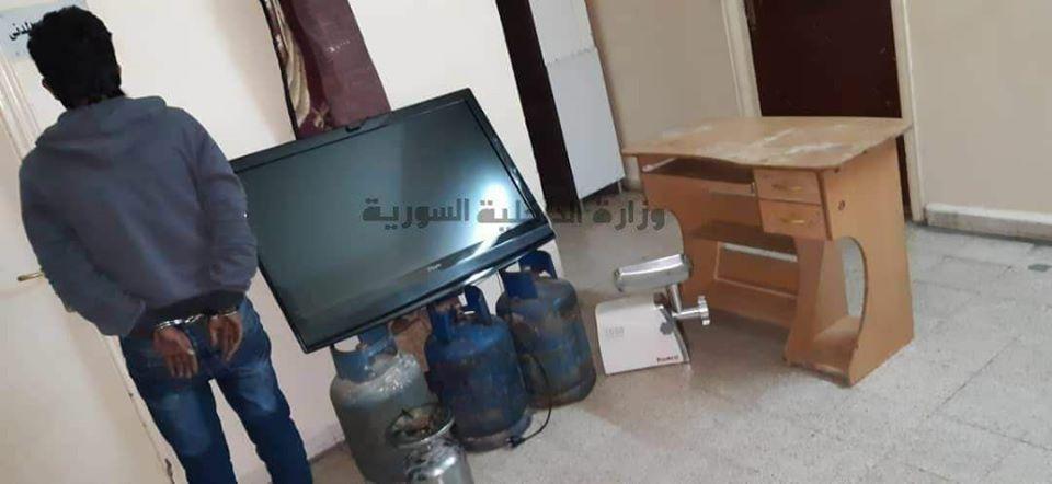 القبض على لص خطير في صيدنايا بريف دمشق