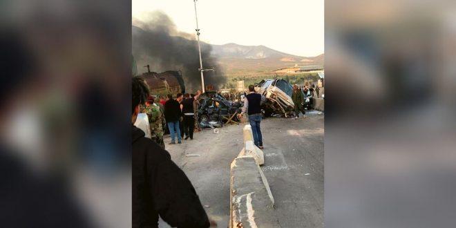 """""""عزرائيل"""" يرافق السوريين على الطرقات!"""