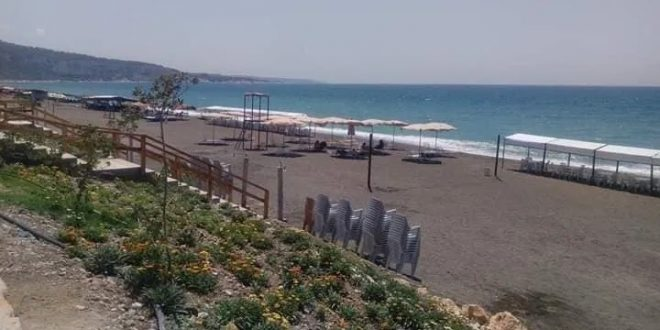 افتتاح شاطئ الرمل العائلي في اللاذقية الأسبوع القادم برسم دخول 300 ليرة