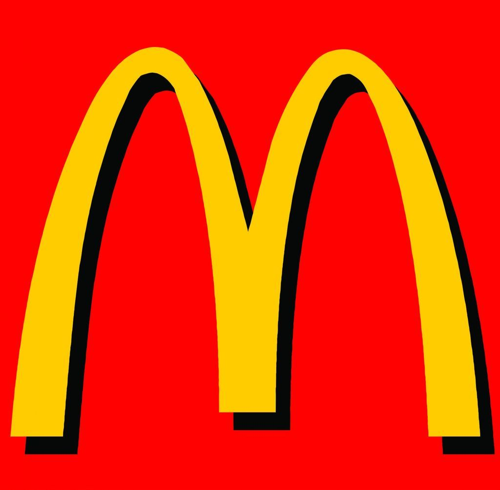 Plain mcdonalds logo