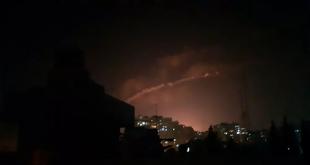 المضادات السورية تدمر هدفا إسرائيليا في الجولان المحتل
