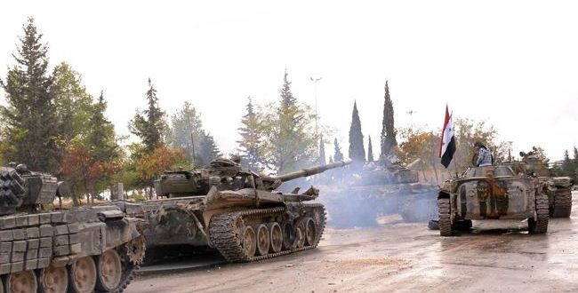 الجيش يصلي الإرهابيين بريفي حماة وإدلب ناراً حامية