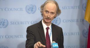 """بيدرسون يعلن موعد استئناف """"الدستورية"""" ويطالب برفع """"العقوبات"""" عن سورية"""