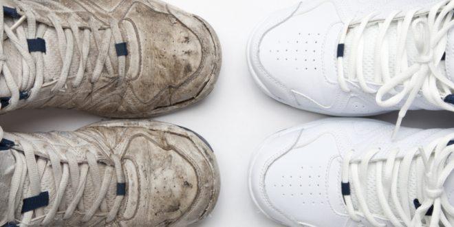 يدوياً أم في الغسالة؟ إليك الطريقة المثلى لتنظيف الأحذية الرياضية