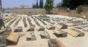 """الأجهزة الأمنية السورية تضبط كمية كبيرة من الأسلحة متوجهة إلى """"النصرة"""" في إدلب"""