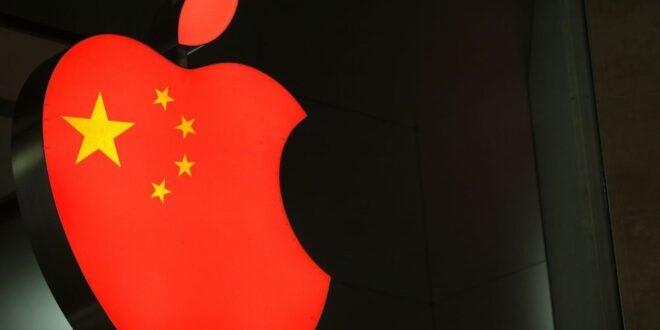 الحكومة الصينية تبدأ أول رد فعل لها عبر استهداف شركة أبل