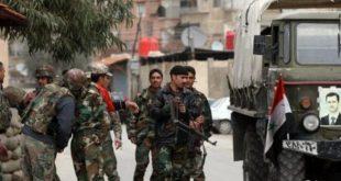 شهداء من الأمن السوري في الرقة بعد استهدافهم