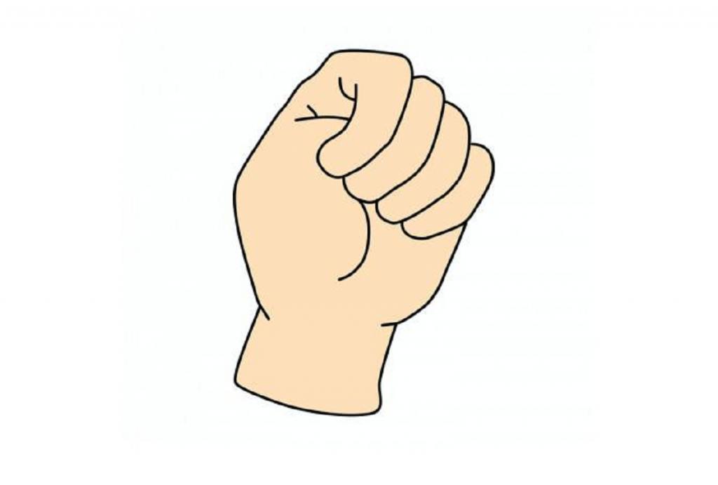 الطريقة التي تغلقون بها قبضة يدكم تعبّر عن شخصيّتكم