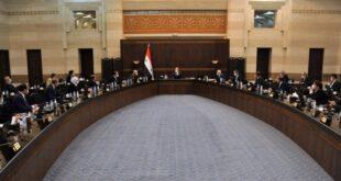 مجلس الوزراء يضع خطاب السيد الرئيس بشار الأسد على طاولة.. للتنفيذ