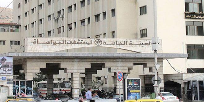 مدير مشفى المواساة : استقرار في حالات إسعاف مصابي كورونا منذ أيام وهذا مؤشر إيجابي