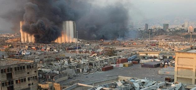 انفجار مرفأ بيروت يهدد سورية بكارثة