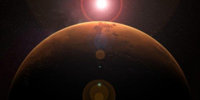"""""""ناسا"""" تكشف عن بقعة شمسية خطيرة بحجم كوكب المريخ تتجه نحو الأرض"""