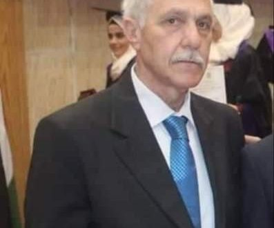 وفاة الدكتور سهيل مرشة نائب عميد كلية الهندسة الميكانيكية