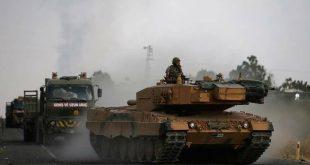 الجيش التركي يرسل تعزيزات عسكرية كبيرة إلى إدلب