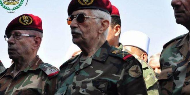 وفاة اللواء محمد الخضراء قائد جيش التحرير الفلسطيني في أحد مشافي دمشق
