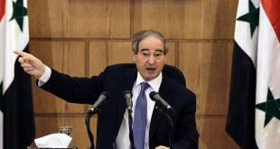 المقداد:سورية تقف قولاً وفعلاً مع لبنان ونتمنى أن يخرج التحقيق بنتائج شفافة وحقيقية
