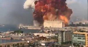 لبنان.. انفجار ضخم يهز بيروت