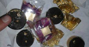 ضبط حشرات وديدان بالشوكولا والجوز باللاذقية