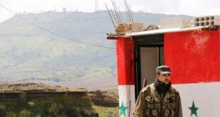 المشاهد الأولى لآثار القصف الأمريكي على الحاجز العسكري السوري في القامشلي