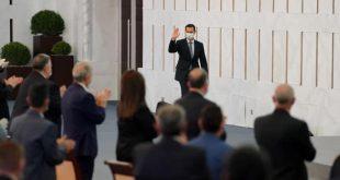 الرئيس الأسد يعلن الحرب على الفساد