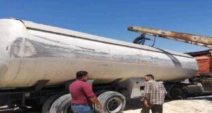 انقلاب صهريج محمل بـ21 طناً من الغاز المضغوط على الطريق