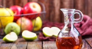 خل التفاح ان يقضي على جرثومة المعدة