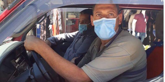 سوريا: 600 ليرة وسحب الشهادة.. مخالفة عدم ارتداء كمامة لسائقي السيارات