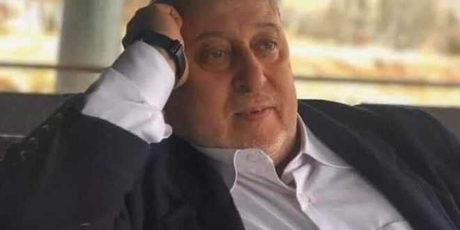 وفاة الدكتور خالد زركلي المدير الطبي والفني لمشفى أمية في دمشق بفيروس كورونا