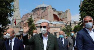 هل زادت شعبية أردوغان بعد تحويل كنيسة آيا صوفيا