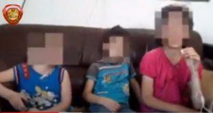 أب سوري يحبس أطفاله بطريقة مأساوية إرضاء لزوجته.. شاهد!