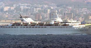 """غرق باخرة """"أورينت كوين"""" السياحية ومقتل اثنين من طاقمها بانفجار بيروت"""