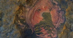 المريخ يحوي أنابيب بركانية تتسع لمدن كاملة... صور وفيديو