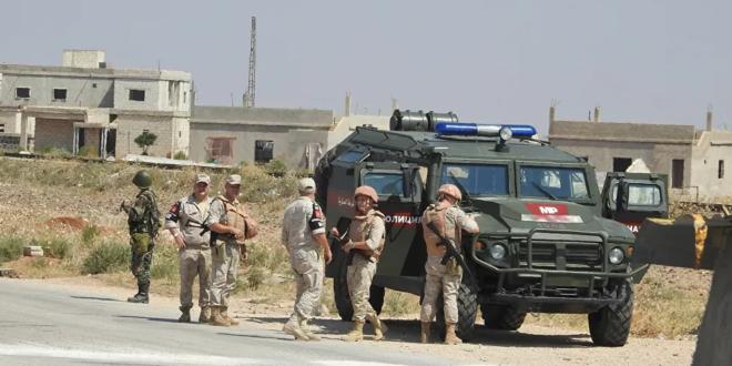 مقتل لواء روسي وإصابة ثلاثة عسكريين في انفجار عبوة ناسفة بسوريا