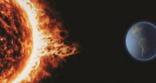 عواصف شمسية ستؤثر على الموبايل والفضائيات وعلى محولات الطاقة بدءاً من الغد