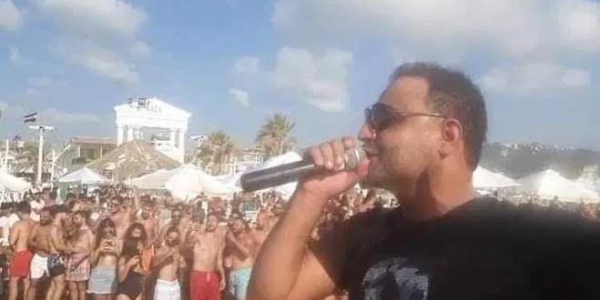 Screenshot 2020 08 05 الكورونا تدبك حبي دبي على شاطئ الرمال الذهبية في طرطوس تلفزيون الخبر اخبار سوريا