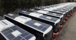 الباصات العاملة على الطاقة الشمسية سترى النور العام القادم