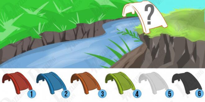 اختبار نفسي : أي لون ستختارون للجسر