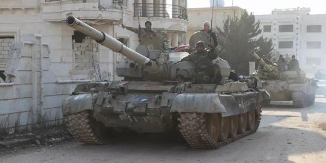 الجيش السوري يحبط هجوما عنيفا قرب الحدود مع تركيا